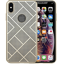 NILLKIN PC Heat Dissipation Back Air Case for iPhone XS Max (Gold)