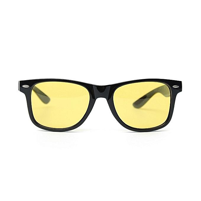 dbce451b1c9 Yellow Lens Driving Sports Cycling Riding Night Vision Sun Glasses Goggles
