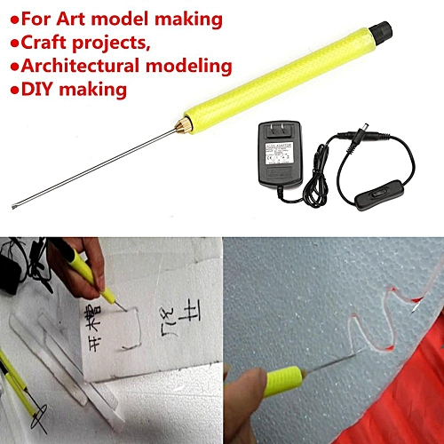Multi-purpose Craft Supplies 10cm Needle Electric Styrofoam Foam Cutter Hot Wire Styro Foam Cutting Pen Tool Convenient To Cook Styrofoam Forms