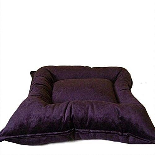 Floor Pillow/Floor Cushion  -  Brown Plain -  76cmx76cm - Brown