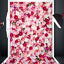 Vinyl Background Cloth Photography Lover Rose Photo Backdrop Studio Props 3x5ft