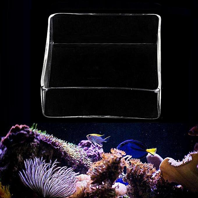 Feeders The Cheapest Price Acrylic Shrimp Feeder Aquarium Fish Tank Feeding Food Dish Bowl Feeder Tray Container Last Style Home & Garden