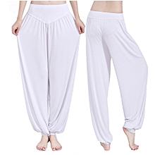 Yoga Pants Women Plus Size Colorful Bloomers Dance Yoga TaiChi Full Length Pants Smooth No Shrink Antistatic Pants