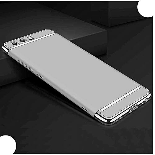 Very Light Slim Gentleman's 3 in 1 Style, 2018 Newest Super Cool Thin  Anti-Scratch Cellphone Cover Case - !Silver - Huawei P8 Lite
