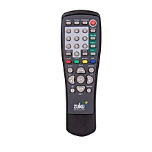 Replacement Remote control for ZUKU Decoder - Black