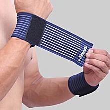 Cotton Elastic Bandage Hand Sport Wristband Gym Support Wrist Brace Wrap