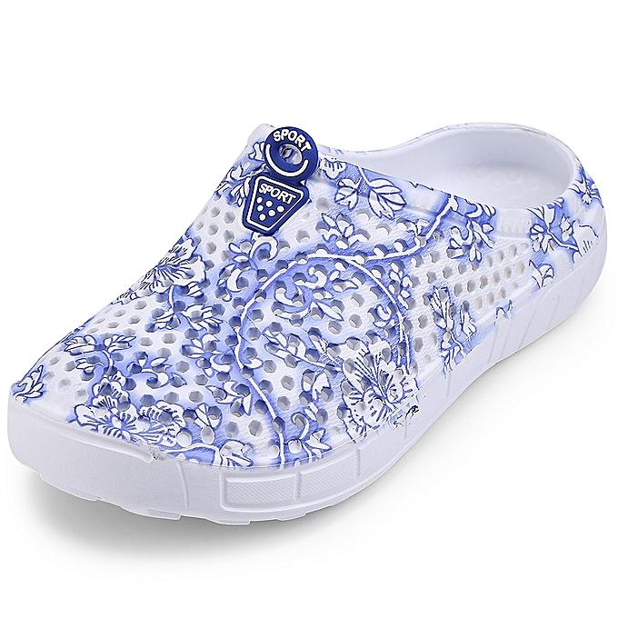 29c053dda43d2b Leadsmart Women Hollow Slip-on Hole Slippers Garden Beach Shoes Outdoor    Indoor Sandals