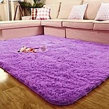 Fluffy Carpet - 7x10 - Purple