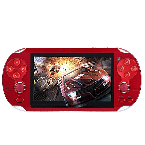 4.3'' PSP Portable Handheld Game Console Player 300 Games Built-in Video Camera Red