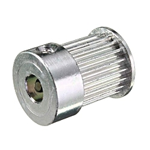 20 Teeth GT2 Timing Pulley Bore 6.35mm Pitch 2mm For Belt W=9mm 2GT Pulley Sliver