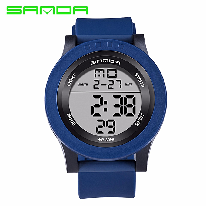 e657ff1fb Top Selling Sanda Man Watches High end Brand Luxury Digital Sport Shock  Watch 3ATM Waterproof Outdoor