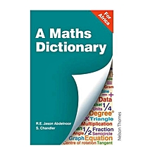 A Maths Dictionary for Africa
