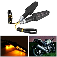 Turn Signal Light 4Pcs 12V LED Motorcycle Motorbike Turn Signal Indicator Light Lamp for Sawasaki/Honda/Suzuki