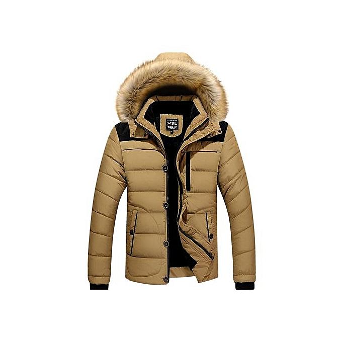 315bd4144d4c Winter Jacket Men Casual Cotton Thick WarmFASHION Coat Men's Outwear Parka  Plus Size 4XL Coats Windbreak