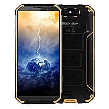 Blackview BV9500, 4GB+64GB, IP68 Waterproof Dustproof Shockproof, Dual Back Cameras, 10000mAh Battery, Face ID & Fingerprint Identification, 5.7 inch Android 8.1 Helio P23 (MTK6763) Octa Core up to 2.5GHz, NFC, Wireless Charge, Network: 4G(Yellow)