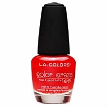 Nail polish - Animated Red