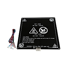 Anet® 220x220x3mm 120W 12V MK3 Upgraded Aluminum Board PCB Heating Bed With Wire For 3D Printer