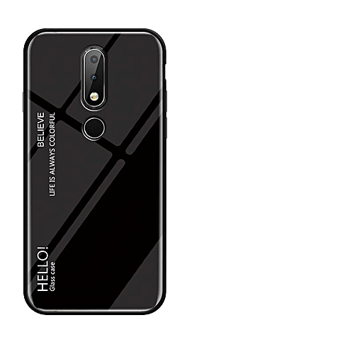 promo code abe81 5de04 For Nokia 6.1 Plus/Nokia X6 Case,Ultra Thin Slim Shockproof Protective TPU  Bumper Case + Hard Back Tempered Glass Grip Cover For Nokia X6/Nokia 6.1 ...