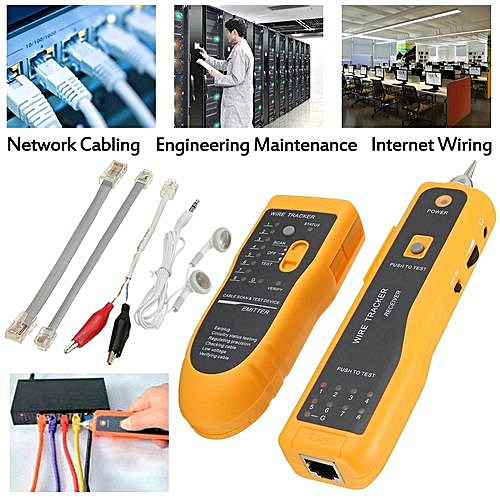 generic hunt rj45 rj11 check line hunt instrument telephone network tester  decoration and construction content: installation works