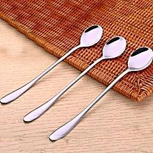 6 - Piece High Quality Long Teaspoon / Tea Spoon