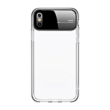 JOYROOM Ultra-thin Shockproof TPU Protective Case for iPhone XS (Transparent)