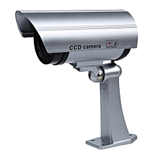 Wireless Waterproof Dummy / Fake IR Security Surveillance Camera /indoor Housing Camera. With A Built-in Red Flashing LED Light, Fake LED IR. Mounting Bracket Included.