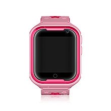 GPRS Smart Watch Waterproof Real-time Positioning for Children - PINK