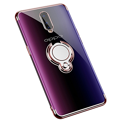 info for af4e0 f7ee3 Grandcase,360° Rotating Ring Grip Holder Kickstand [Magnetic Car Mount]  Soft TPU Cover Case Drop Protection Slim Fit for Oppo RX17 Pro/Oppo R17 Pro