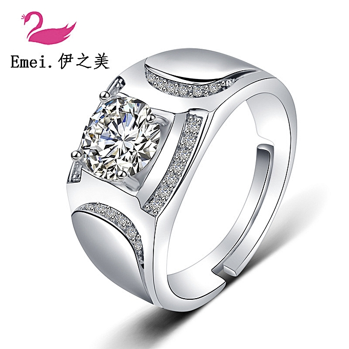 76d1f05d8e Generic Lovers couples rings female the diamond ring imitate a true ...
