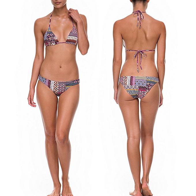 9d46c15a9513f Women Padded Push-up Bikini Set Swimsuit Bathing Suit Swimwear Beachwear