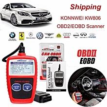 KW806 Can OBDII Car Scanner Diagnostic Tool Live Code Reader  LBQ