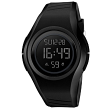 5ATM Water-resistant Sport Watch Students Watch Backlight Wristwatch Male Relogio Musculino Chronograph Alarm