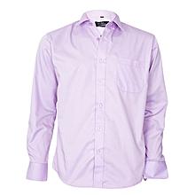 Lilac Long Sleeved Formal Shirt