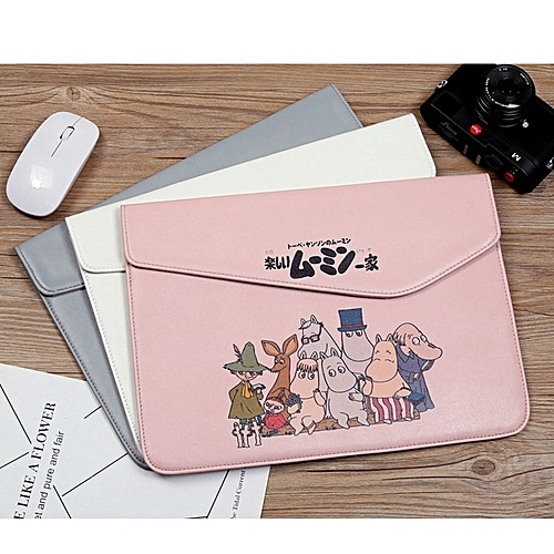 035185d7cec3 For Macbook Air 13 bag Pro 11 12 14 Case Waterproof Smooth PU Leather Ultra  Slim Magnet Adsorption Women Girl Sleeve Laptop Bags(for macbook 12 ...
