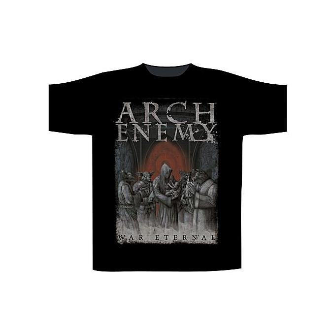 fe496fdf Men's Fashion T-Shirt Arch Enemy War Eternal T-Shirt Men Cotton T Shirt