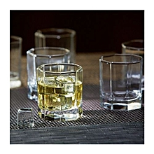 Old Style whiskey glass ware