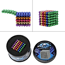5mm 216pcs Neodymium Magnetic Beads Puzzle Kids Toy Colorful