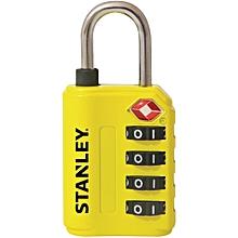 4 Digit yellow TSA Approved