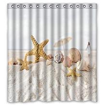 Custom Fabric Waterproof Bathroom Shower Curtain 66 x 72 inch