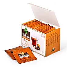 Melvins Masala 25 enveloped and tagged tea bags