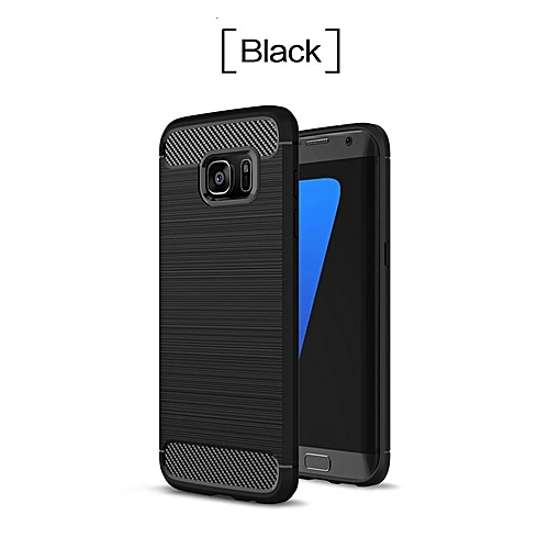 b483525ff01 Phone Cases For Samsung Galaxy S7 Case Carbon Fiber Rubber Cover For  Samsung S7 Case Anti knock Business TPU Capa Coque