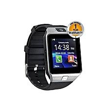 "DZ09 - 1.56"" Smart Watch - 128MB ROM - 64MB RAM - 0.3MP Camera - SIlver"