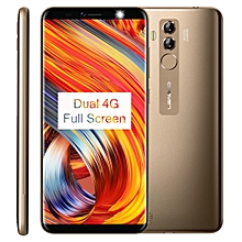 LEAGOO M9 Pro, Dual 4G, 2GB+16GB, Dual Back Cameras, Face & Fingerprint Identification, 5.72 inch Android 8.1 MTK6739V Quad Core up to 1.5GHz, Network: 4G, Dual SIM(Gold)