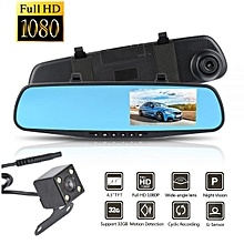 Full HD 1080P Vehicle Blackbox DVR -Front and back Camera