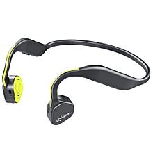 F1 Wireless Bone Conduction Bluetooth Headset-YELLOW