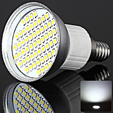 4W SMD 3528 60 LEDs White Light Silver Spot Lamp (260LM 6000-6500K) - Cool White