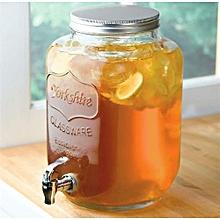 Mason Jar Yorkshire Glass Drink Dispenser - 8 Litres