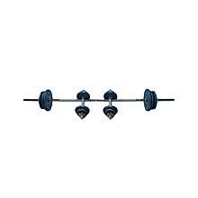 Barbell & Dumbell Set 50kgs: Bw-4150: