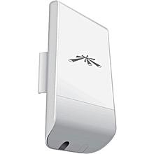 NanoStation  Loco  M5  5 GHz.150 + Mbps  13dBi - White