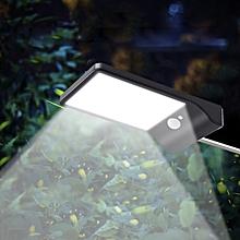 Ultra-thin Solar Lamp 36-LED Light Control / Body Sensor - Black